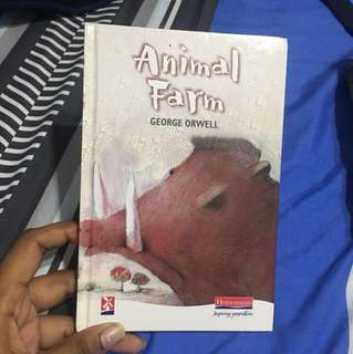 Animal Farm Literature book george orwell