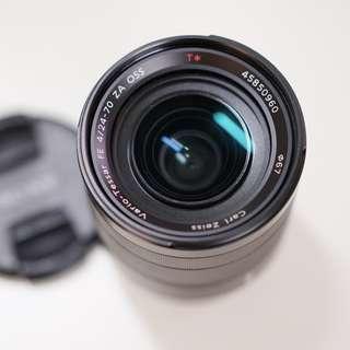 Sony FE 24-70mm f/4 Zeiss Vario-Tessar OSS Lens