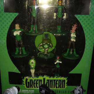 Green lantern pvc set