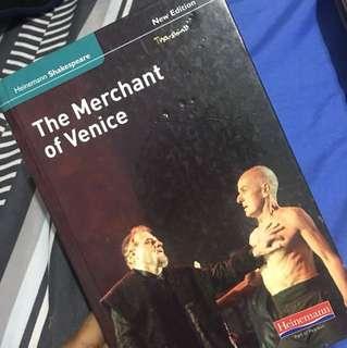 Merchant of Vemice literature book william shakespeare