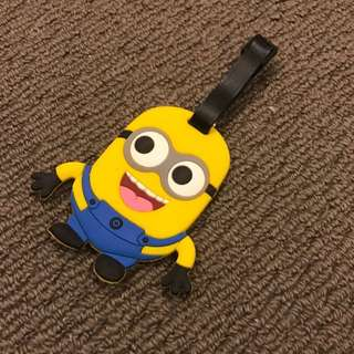 Minion Luggage Tag