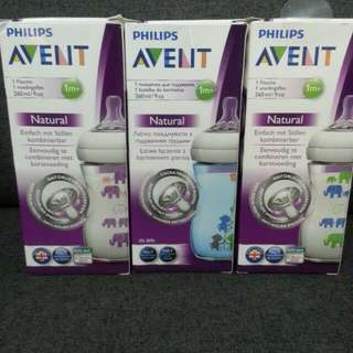 Philips Avent 9oz Natural RM38 each exc pos