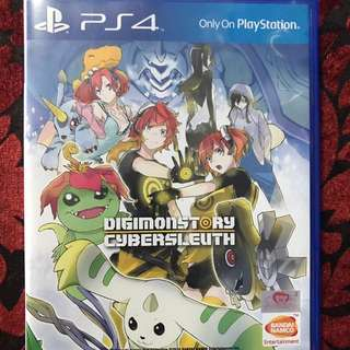 PS4 Digimon Story Cybersleuth