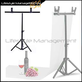 Camera Photography Background Support Studio Stand/Frame Kit/Equipment for PVC Backdrop
