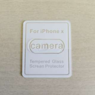 Tempered glass for iphoneX back camera