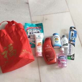 Prosperity Lion products bag