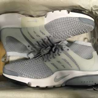 Nike Air Presto Flyknit Ultra (Wolf Grey)
