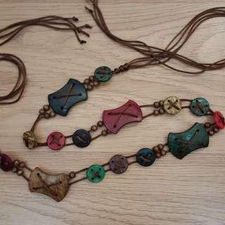 Native chain belt
