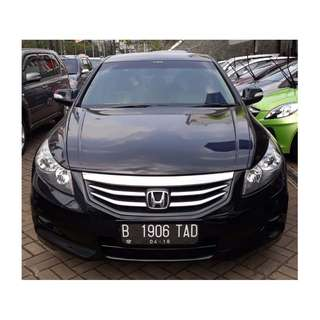 2013 Accord Vti-L A/T Hitam Metalik