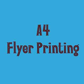Printing Service - Flyers
