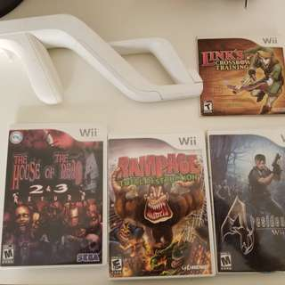 Wii games and Fit