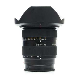 Sony SAL DT 11-18mm F4.5-5.6 (A-Mount Lens) APS-C DSLR