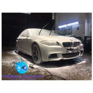 BMW F10 (Full polishing plus Sealant)