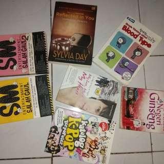 novel terjemahan + komedi + korea ( take all)