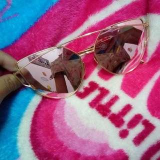 Sunglasess pink cat eye