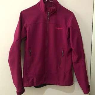 Patagonia shell jacket 紫色XS