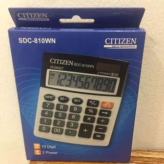 Calculator/citizen