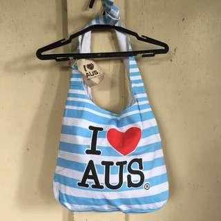 I love Australia canvas bag