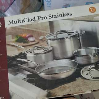 Brand new Cusinart Multi Clad Pro Stainless Steel