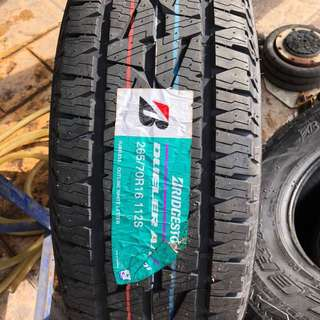 265/70/16 At001 Bridgestone Tyre