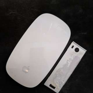 Apple Magic Mouse battery acid but works well