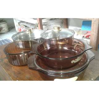 Wadah dan set panci penggorengan good quality