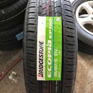 195/65/15 Ep150 Bridgestone Tyre