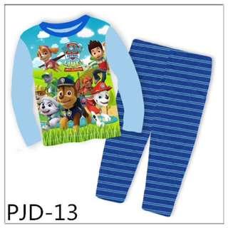 Paw Patrol big size sleep wear set