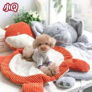 🚚 (PO) Pets Cartoon Animal Head Character Comfy Dog Mat