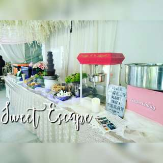 Chocolate fountain for wedding and events