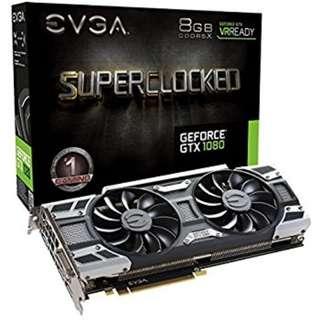 EVGA GTX1080 SC