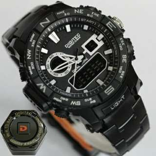 Jam Tangan Digitec Chain Original