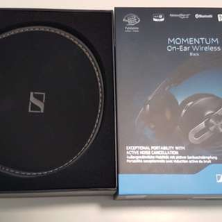 Sennheiser Momentum Wireless M2 On-Ear Headphones - Black