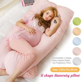 U Shaped Maternity Full Support Pillow with Cover Brand New