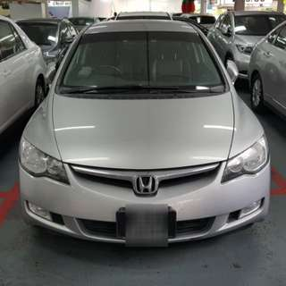 Rental : Honda Civic 1.8A