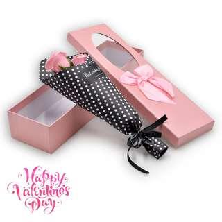 3 pcs Soap Flower Bouquet Gift for Valentines