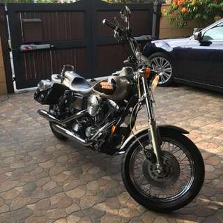 1998 Harley Davidson Lowrider with bobtail fender COE till 02/2028