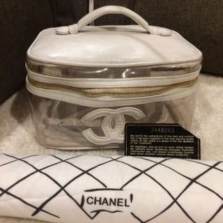 Authentic Chanel Vanity Bag With Card and Dustbag
