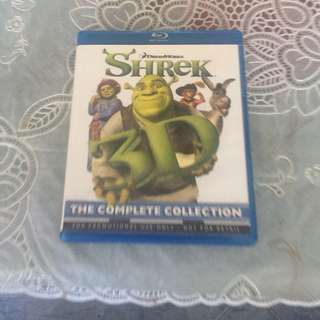 3D bluray- Shrek The complete collection