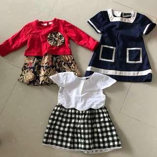 Dresses bundle (12-24m)