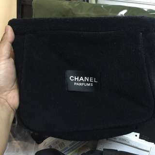 Authentic Chanel Parfums Pouch
