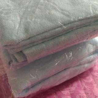 blue colour microfiber children bath towel