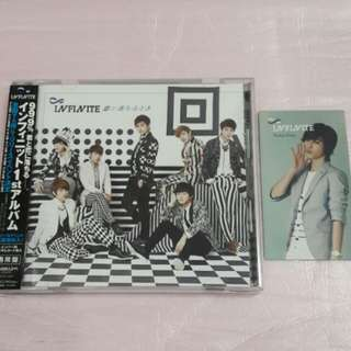 Infinite Koi Ni Ochiru Toki CD ver + Sungjong photocard