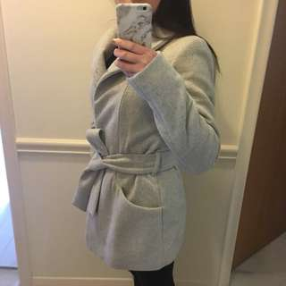 Aritzia wilfred wool coat size S