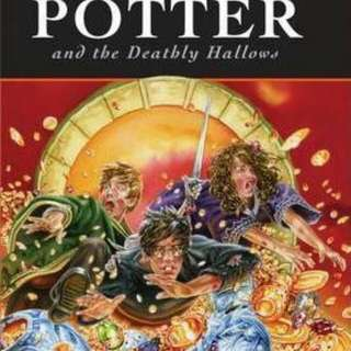 Harry Potter and the Deathly Hallows  Hardback English By (author)  J. K. Rowling