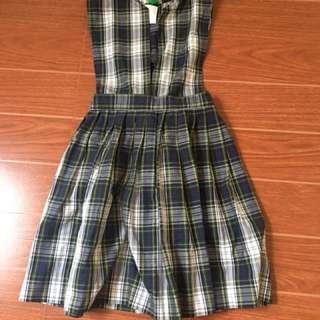 Checkered dress 6-7 y/o