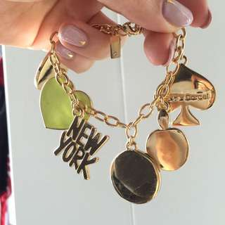 Kate spade bracelet charms *authentic*
