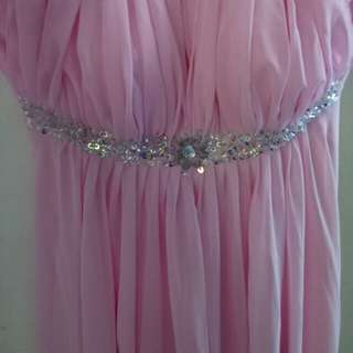 Bridesmaid gown for rent