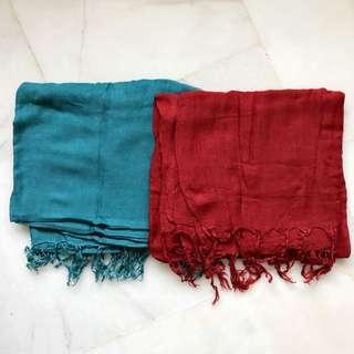Bershka scarf (bundle)