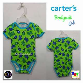 Carter's Bodysuit Crocodile for 6M